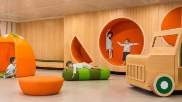 Innovador diseño de guardería infantil