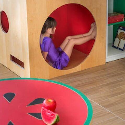 Espacios para la lectura infantil en guardería