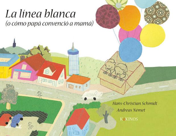 libro infantil La línea blanca de Hans Christian Schmidt y Andreas Német