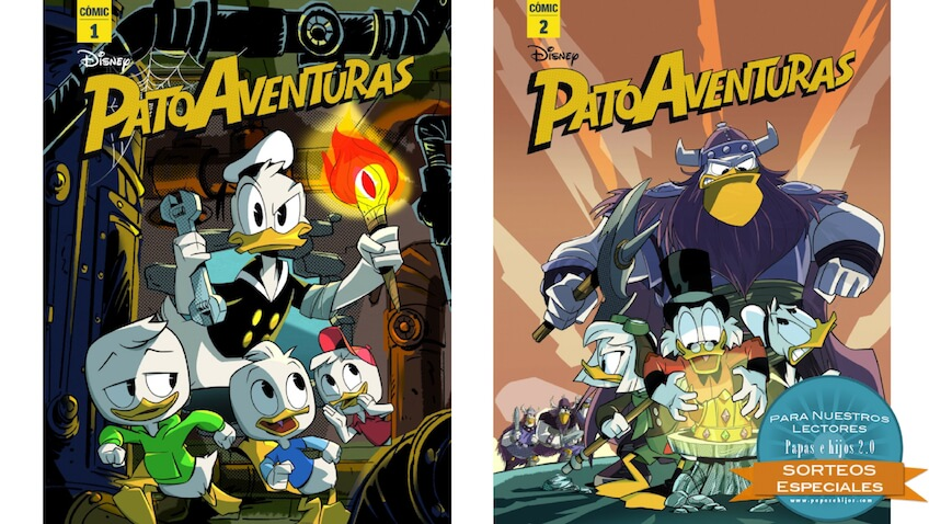 Sorteo de un pack de cómics de PatoAventuras de Disney