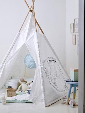 Tipis para decorar espacios para bebés