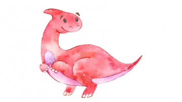 Calendario infantil de dinosaurios para pequeños paleontólogos