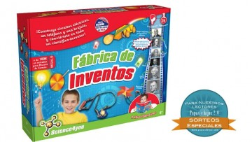 ¡Sorteo de la Fábrica de Inventos de Science4you!