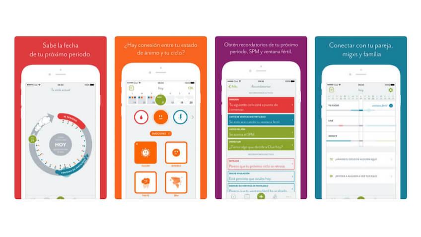 Fitbit y Clue crean una nueva app exclusiva para el smartwatch Ionic