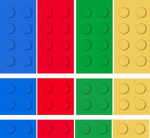 Guirnalda Lego para imprimir gratis