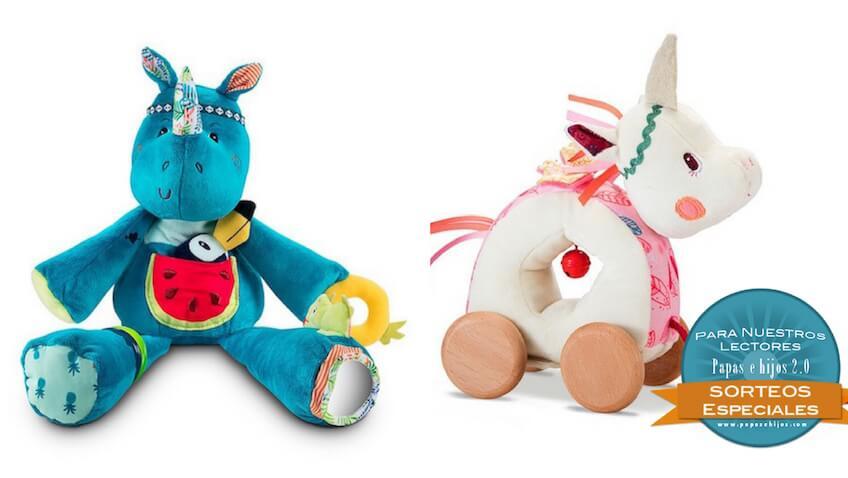 Sorteo Nueva colección de juguetes de Lilliputiens primavera verano 2018