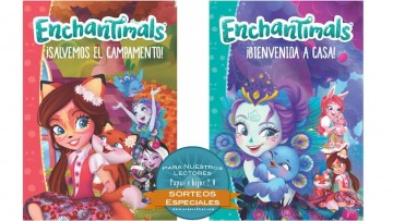 ¡Sorteo de libros de Enchantimals!