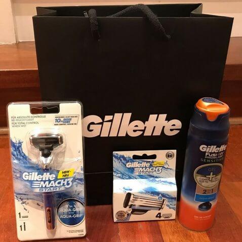 Productos de afeitado para adolescentes de Gillette nueva maquinilla mach3 start
