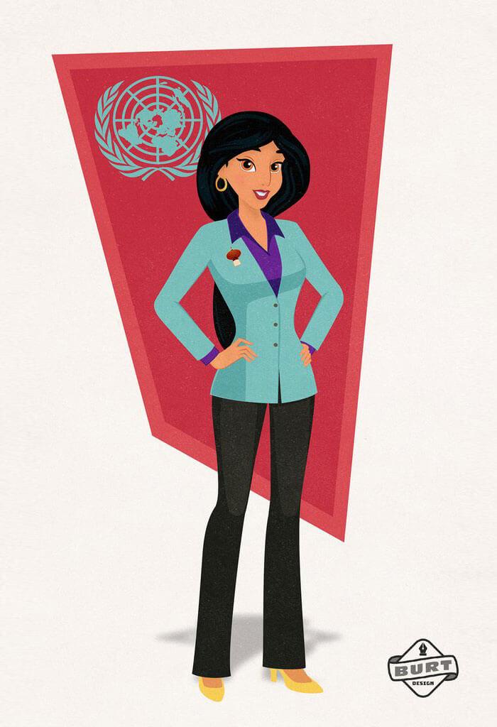 Jazmín Princesa de Disney de Agrabah