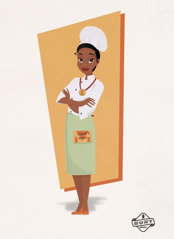 Tiana la Princesa Disney negra