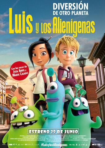 """""""Luis y los Alienígenas"""" estreno en cines el 29 de junio"""