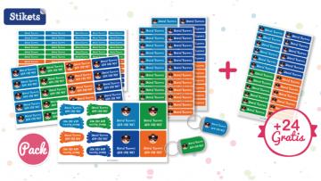 ¡Sorteo de un pack de etiquetas adhesivas de Stikets y código descuento!