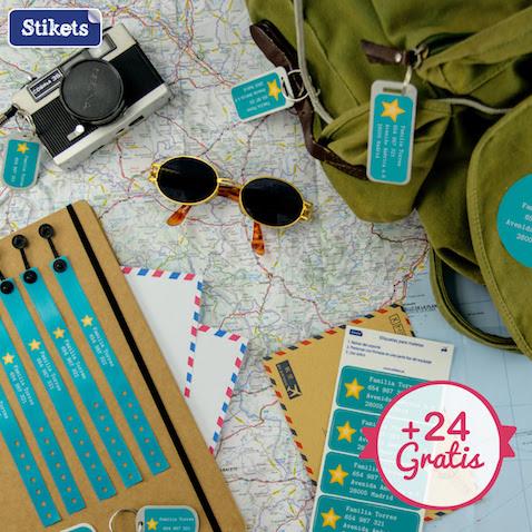 Nuevo Pack Viajar de Stikets con 24 etiquetas gratis