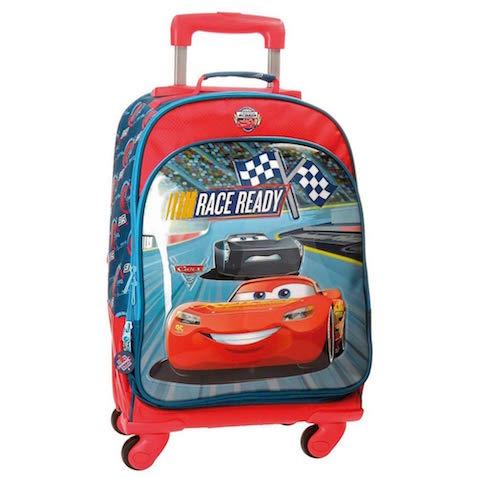 cda06744c 5 mochilas con ruedas de Cars 3 rebajadas para la Vuelta al Cole