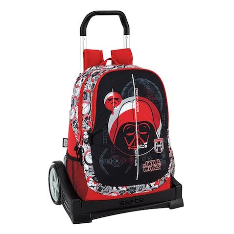 Mochila con ruedas de Star Wars rebajada