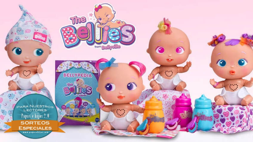 Sorteo de dos muñecas The Bellies de Famosa gana un bebé bellie