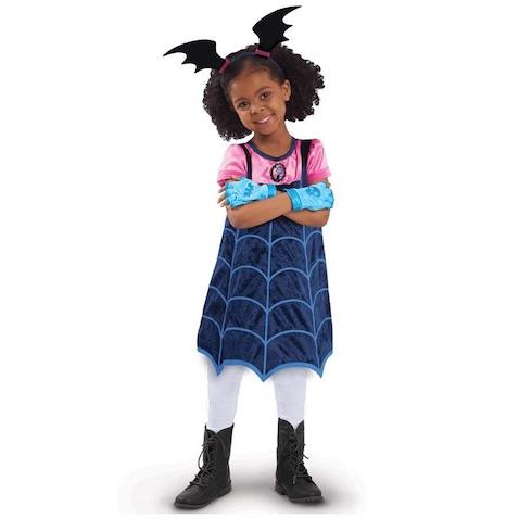 Disfraz Vampirina de Disney con botas