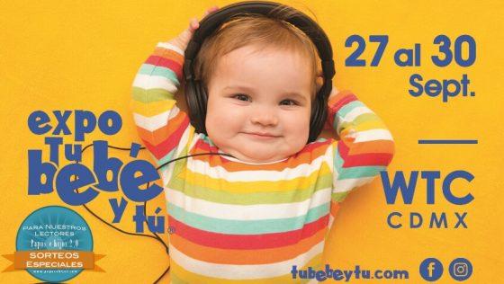 ¡Gana entradas para la Expo Tu Bebé y Tú en CDMX!