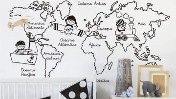 Colores de moda para decorar habitaciones de niñ@s