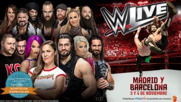 ¡Gana entradas para los espectáculos Live Events de WWE y regalos!