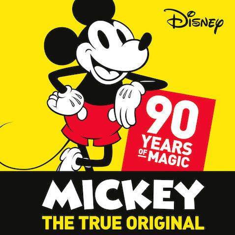 Prendas de para niñ@s conmemorativas al 90 aniversario de Mickey de moda