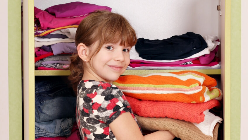 Dónde donar ropa de niños