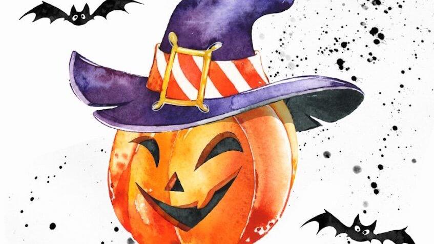 Decoración para Halloween que puedes imprimir gratis para fiestas infantiles