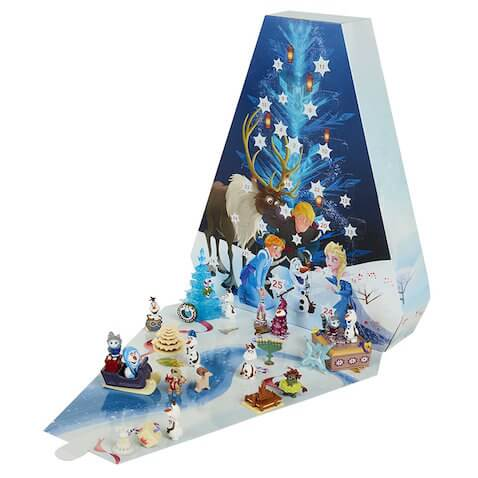 Calendario de adviento juguete de Frozen con forma de árbol de Navidad