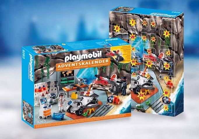 Calendario de Adviento de Playmobil Agentes