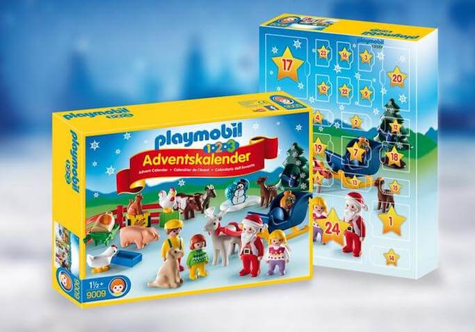Calendario de Adviento Playmobil Granja Animales