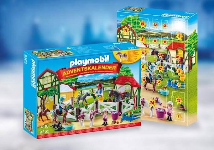 Calendario de Adviento de Playmobil Granja de Caballos para niños