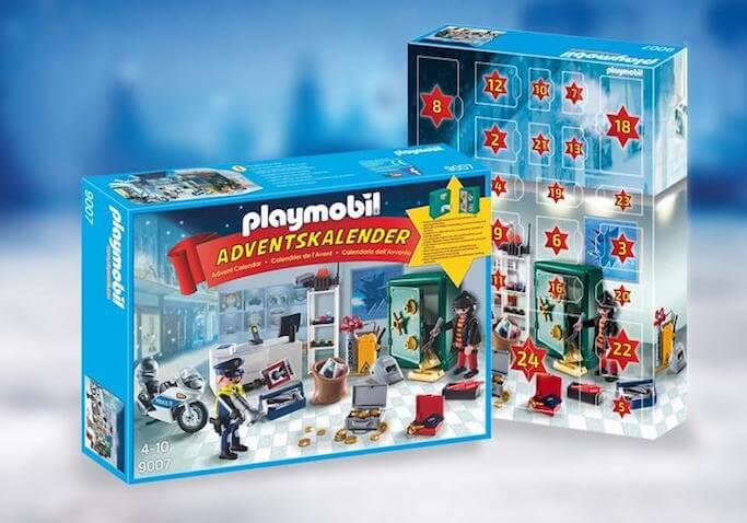 Calendario de Adviento de Playmobil Robo en la joyería
