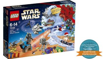 ¡Gana un calendario de adviento de Lego Star Wars!