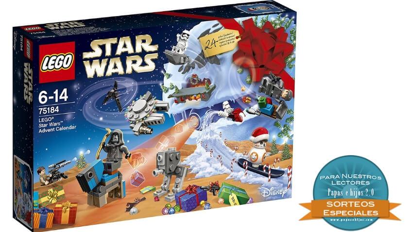 Gana un calendario de adviento de Lego Star Wars para niños