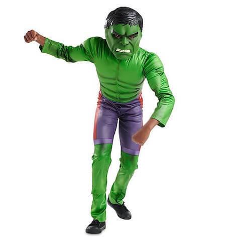 Disfraz infantil Increíble Hulk Disney Store