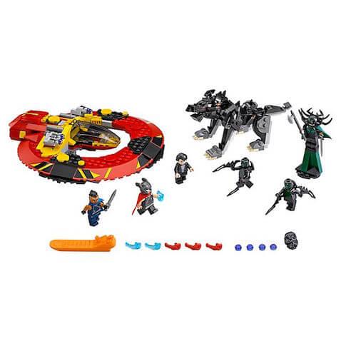 LEGO Vengadores Thor: La batalla definitiva por Asgard de Disney