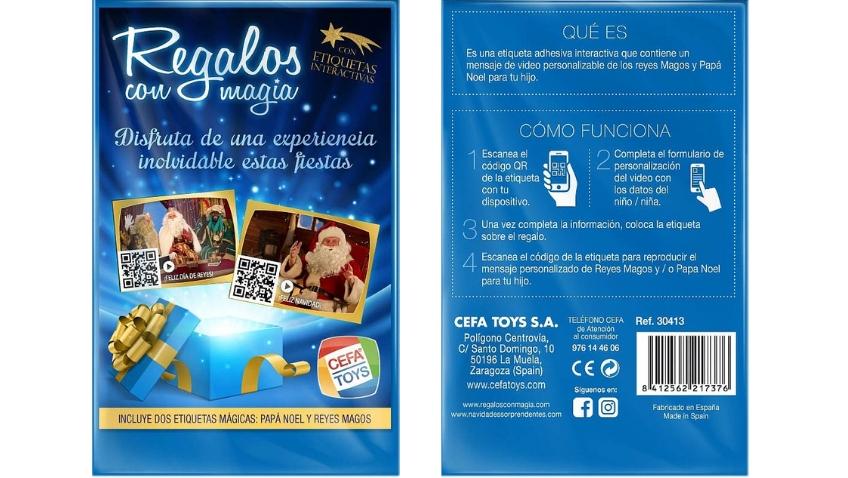 Pasos para crear etiquetas para regalos con Magia Etiquetas