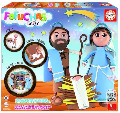 Kit de Fofuchas para hacer un Belén infantil