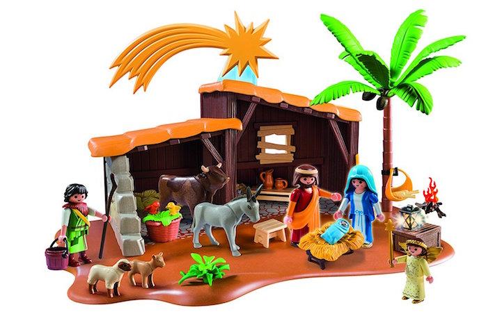 Belén para niños Playmobil para Navidad