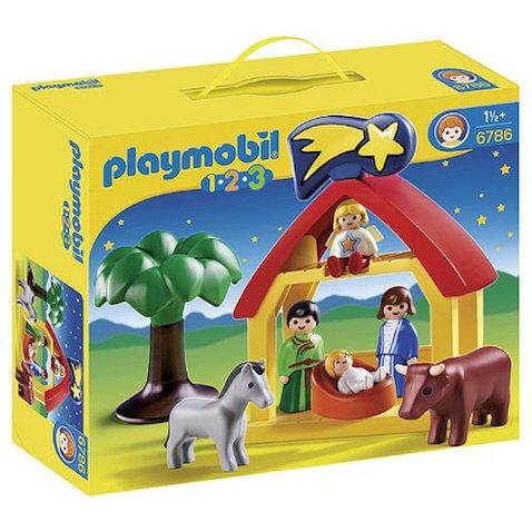 Belén para niños de Playmobil 1.2.3 para 18 meses