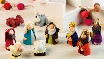 12 Belenes para niñ@s perfectos decorar la Navidad