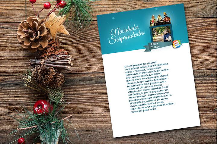 Carta para los Reyes Magos de Navidades Sorprendentes 2018