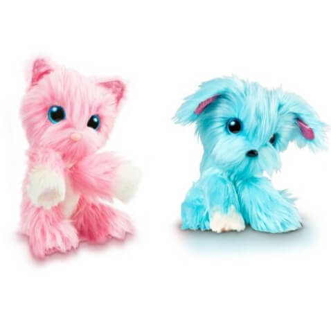 Adoptanimals de Bizak rosa y azul
