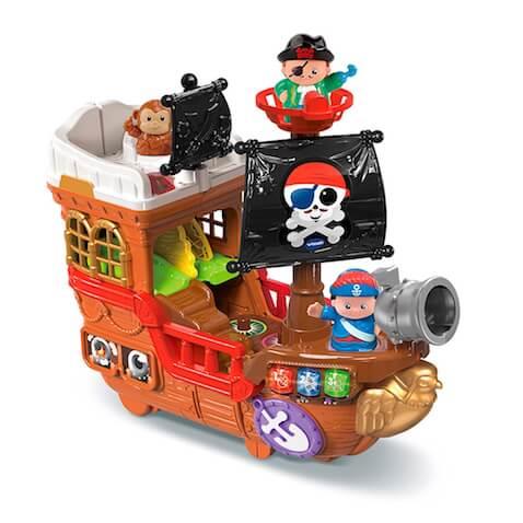 Barco Pirata Caza Tesoros de Tut Tut Amigos VTech