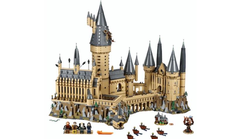 Set LEGO Harry Potter Gran Castillo de Hogwarts para Navidad
