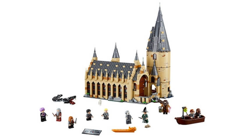 Set LEGO Harry Potter el Gran Comedor de Hogwarts referencia 75954