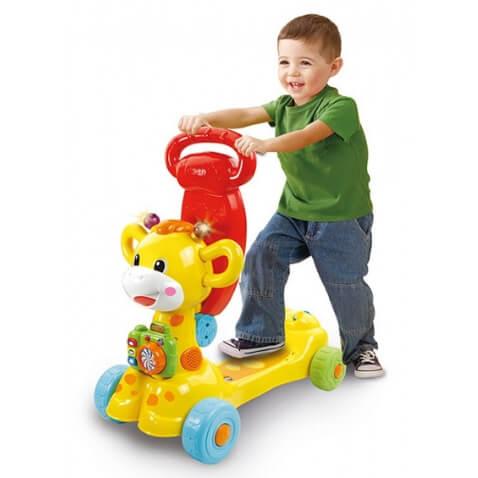 Jirafa de Vtech Scooter o patinete para niños a partir de 2 años