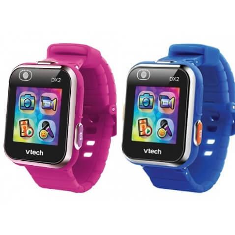 Kidizoom Smartwatch DX2 de VTech color frambuesa y azul