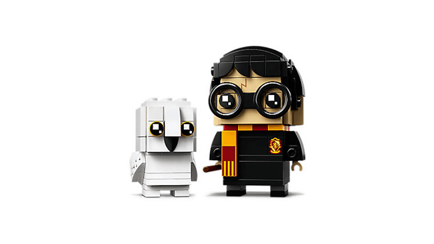 BrickHeadz de LEGO Harry Potter y Hedwig
