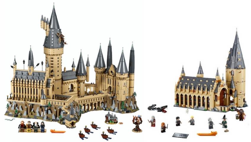 Nuevos Sets de Lego Harry Potter para Navidad